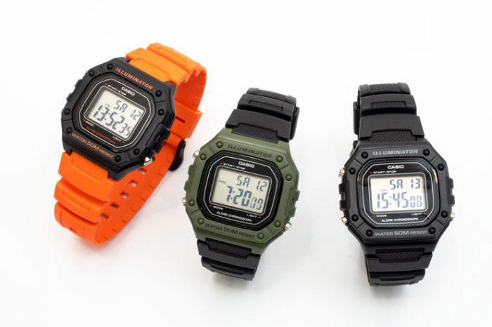 official photos 87244 88343 薄く、軽いのに丈夫な腕時計。【Casio / カシオ】H218W / 腕時計 ...
