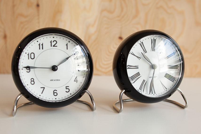 ARNE JACOBSEN / アルネヤコブセン】Table Clock テーブルクロップ ...